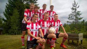 1° squadra (by Tampereen Pyrintö facebook)