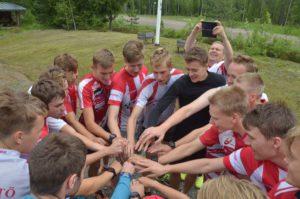La squadra (by Tampereen Pyrintö twitter)